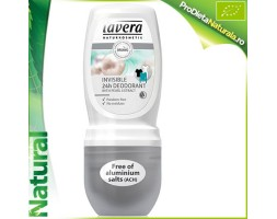 Deodorant Roll on INVIZIBIL (Fara ALUMINIU!) 24H Lavera 50 ml