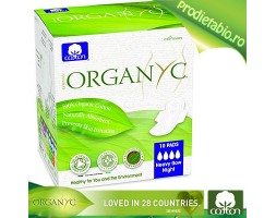 Absorbante speciale pt. NOAPTE Organic 10bc.