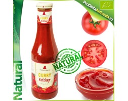 Ketchup cu Curry100% Natural Bio 500 ml